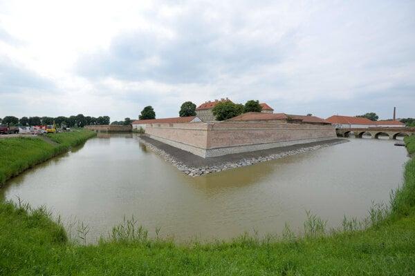 South-eastern bastion in Holíč.
