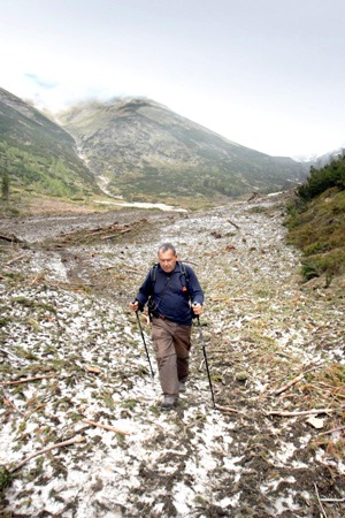 22fdd7b25 Giant avalanche fell in Žiarska Dolina / Žiar Valley five years ago ...