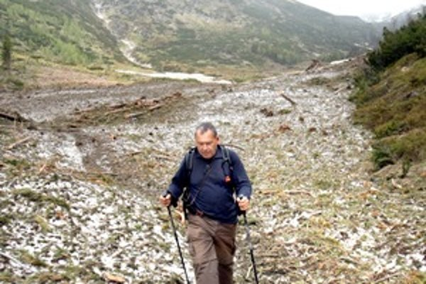 """The ŽIar valley """"two months after"""""""