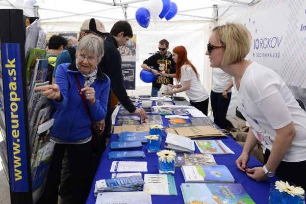 People can learn more about the EU in Bratislava.