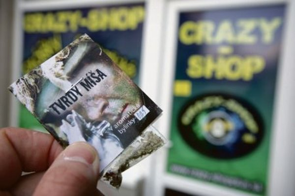 Drugs sold in Crazy Shops were problem in Slovakia.