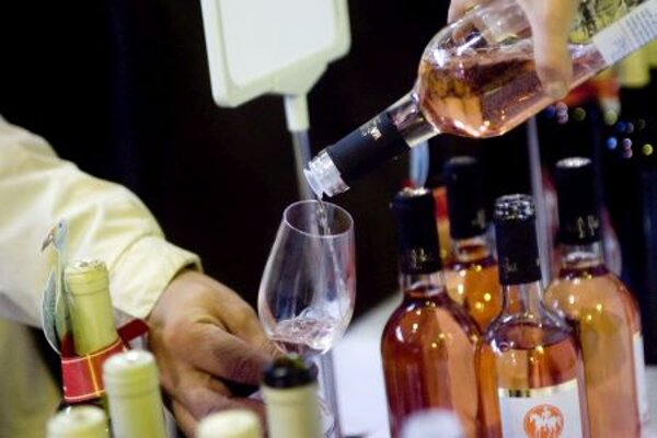 Popularity of rosé wine up in Slovakia.