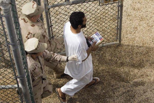 Guantanamo Bay Detention Centre in Cuba.