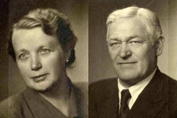 Alžbeta and Arpád Hajdu