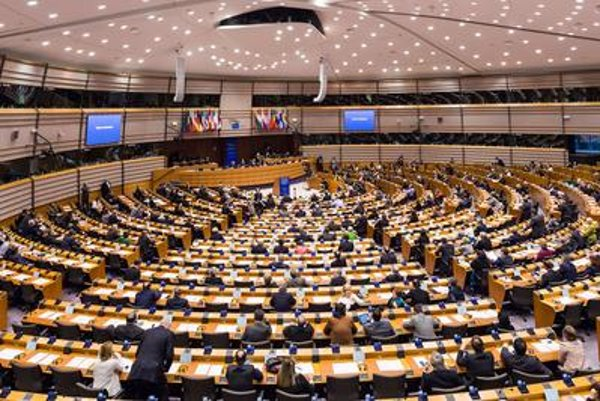 European parliament session