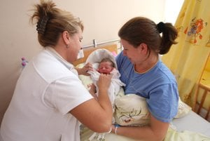 More Slovak women give birth abroad.