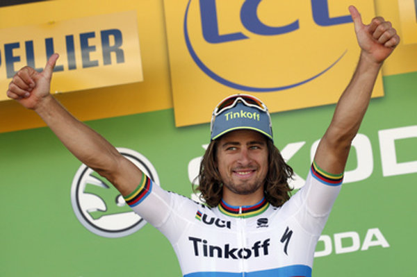 Slovak Peter Sagan won the 11th stage of Tour de France.