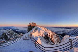 Lomnický štít peak in the High Tatras