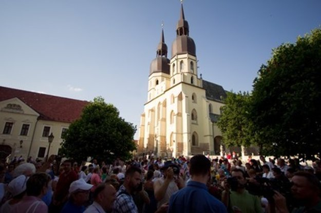 Trnava, St Nicolas' Basilica.