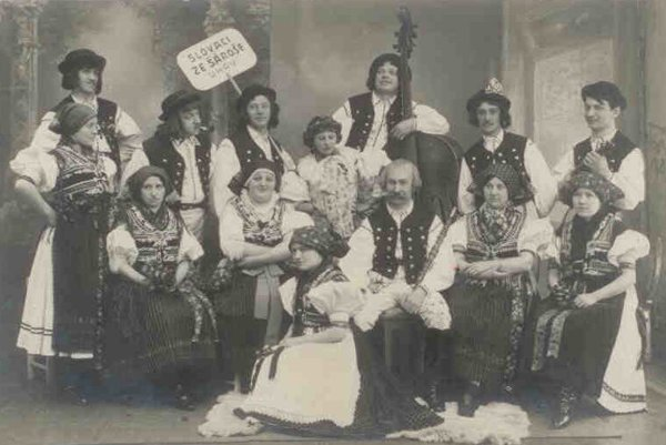 Tha historical band from Šariš