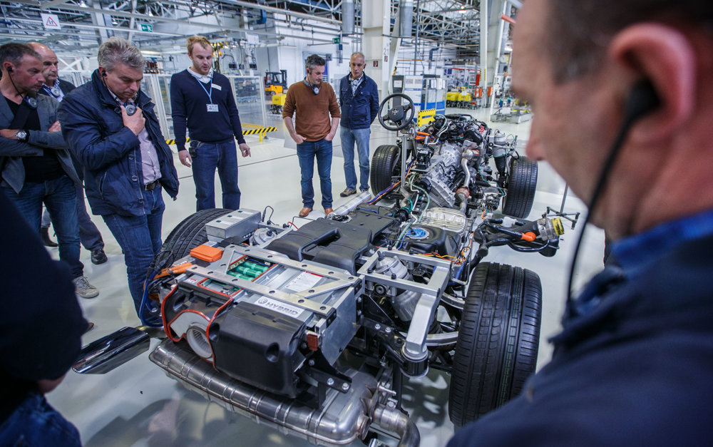 A tour at Volkswagen Slovakia.
