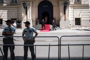 Security measures during previous EU events in Reduta.