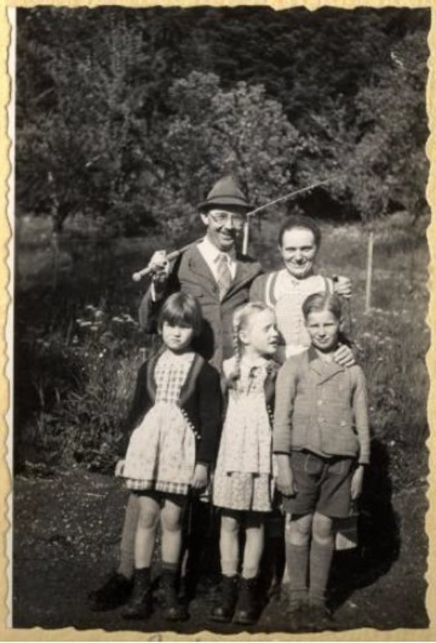 Himmler and his family making a trip to Valeppo, 1941 - The Decent One documentary about Heinrich Himmler.