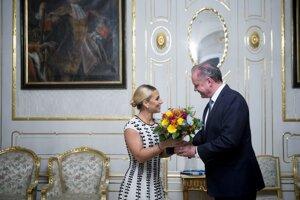 With President Andrej Kiska
