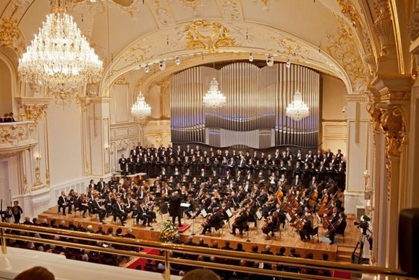 Slovak Philharmonics play in Reduta.