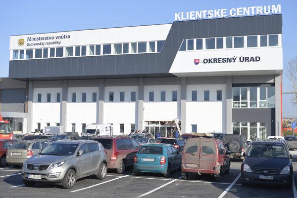 The client centre on Tomášikova Street in Bratislava