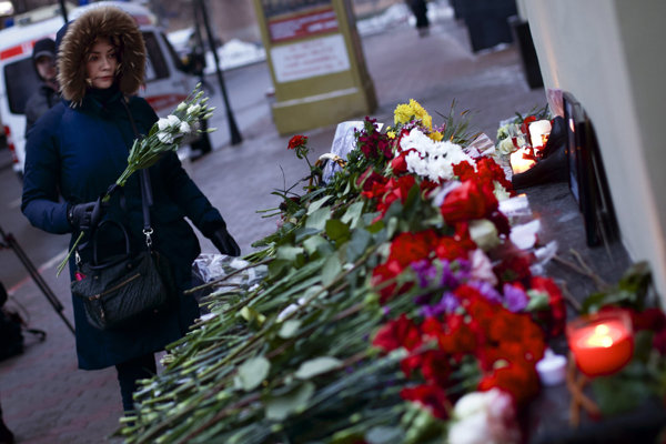 Russia mourns the victims of the air crash.