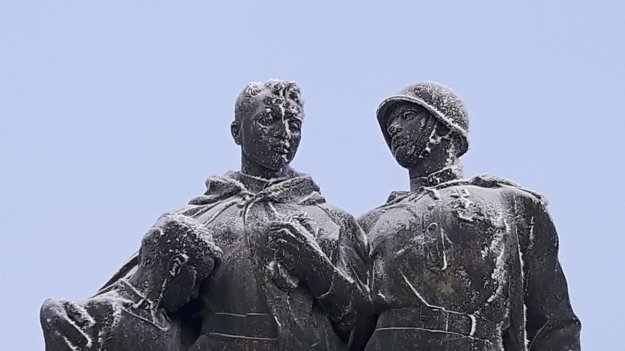 The Slavín monument was designed by the Slovak sculptor and architect Ján Svetlík and was built between 1957-60 to be officially unveiled on April 4, 1960, the 15th anniversary of the liberation.