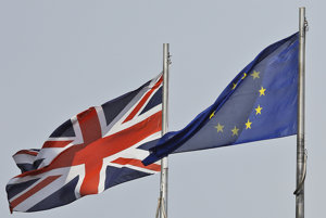 EU-UK, illustrative stock photo.