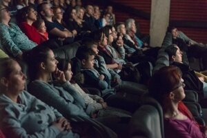 Audiences at the festival screening.