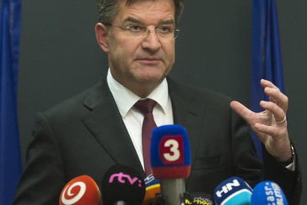 Slovak Foreign Minister Miroslav Lajčák
