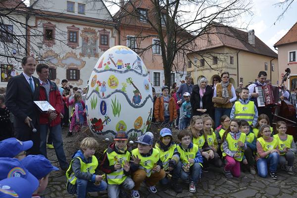 Record Easter egg in Bardejov
