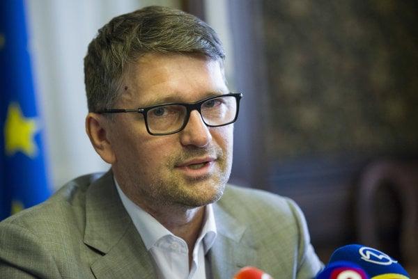 Culture Minister Marek Maďarič