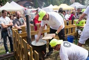 Another team at Halušky Fest Turecká 2017