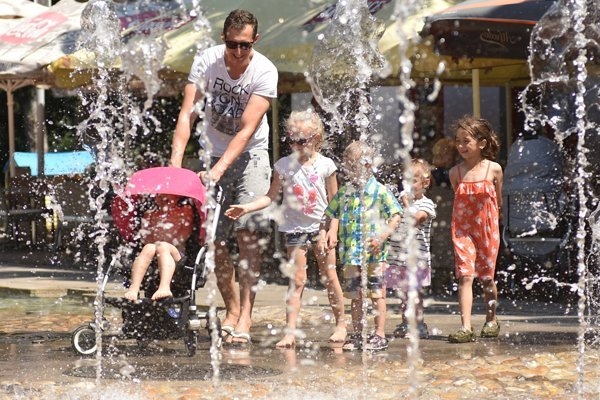 Another heat wave is expected to hit Slovakia on July 20 and 21.