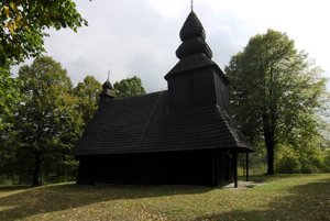 The wooden church in Ruská Bystrá