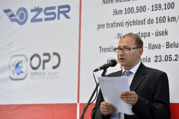 Štefan Hlinka, former ŽSR CEO.