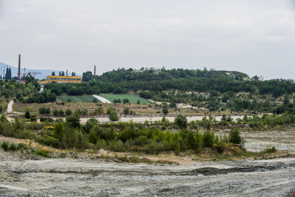 The controversial landfill site in Pezinok