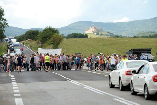 The protest at Soroška