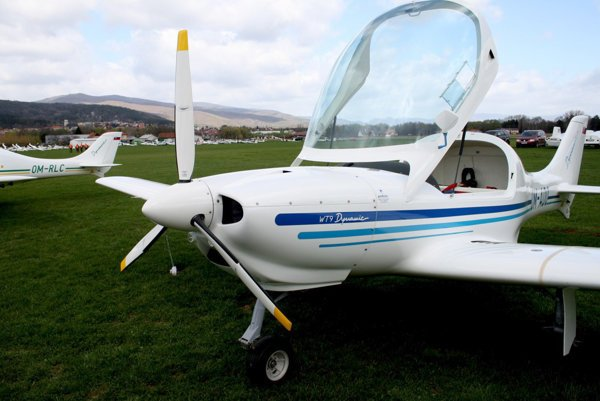 One of models of aircraft manufactured by Aerospool in Prievidza