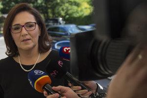 Educaiton Minister Martina Lubyová