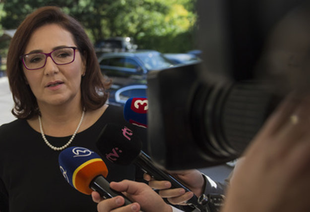 Education Minister Martina Lubyová