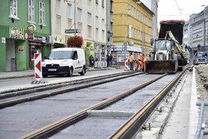 Špitálska Street reconstructed