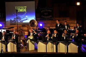 Bratislava Hot Serenaders performing at Esprit Jazz Award 2014 gala.
