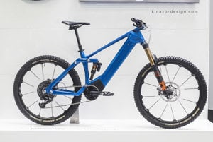 The electric bike made by 3-D printer