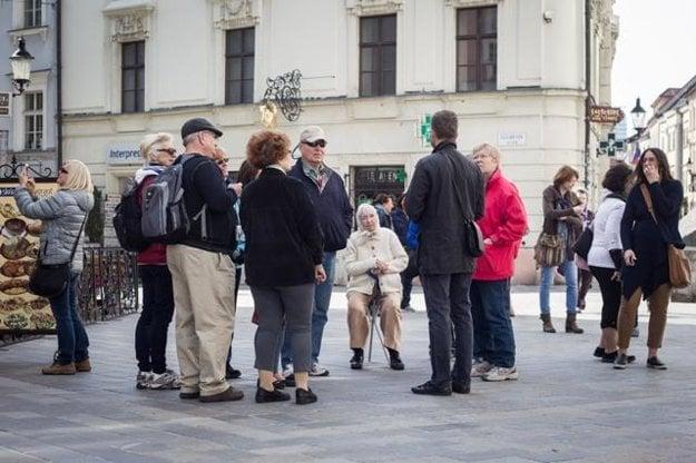 US tourists in Bratislava