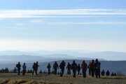 On New Year's Eve, Czech and Slovak hikers meet at the Veľká Javorina peak on the border of the two states, to celebrate the Czecho-Slovak friendship.