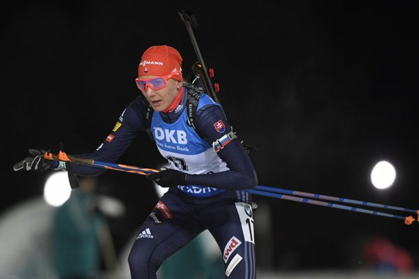 Anastasia Kuzmina has no par on the running track of biathlon.
