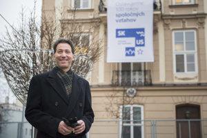 US Ambassador to Slovakia, Adam Sterling