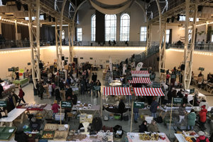 Market in the city