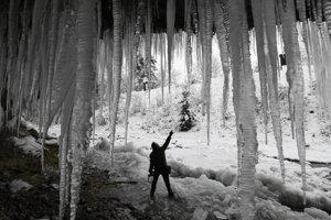 Šikľavá Skala icefall