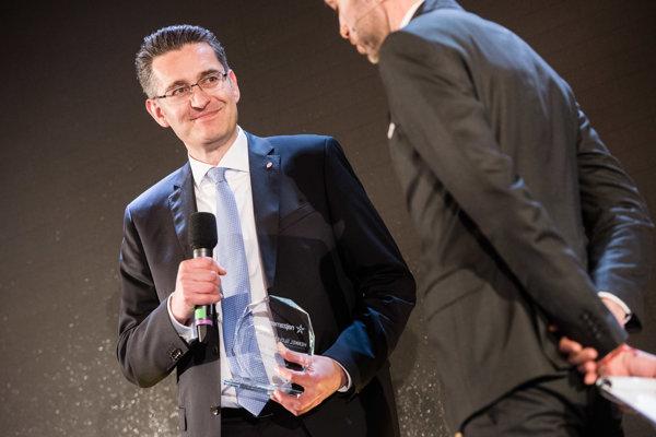 Christian Schulz, President of Henkel Slovensko and Head of Shared Service Center Bratislava
