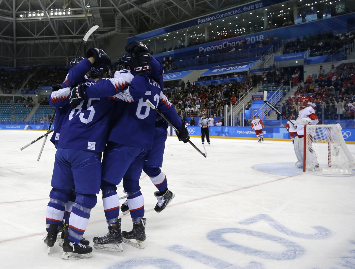Slovakia surprisingly wins over the match favourite