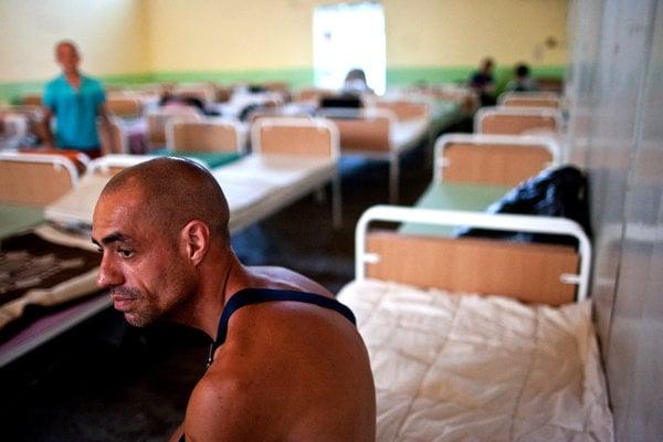 Bratislava's shelters have insufficient capacity.