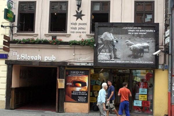 1st Slovak Pub in Bratislava