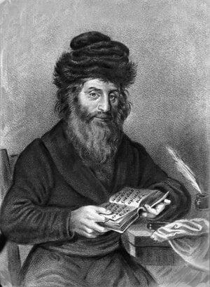 Prominent Rabbi Chatam Sófer